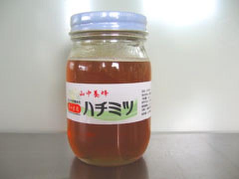 はちみつ・7~8月の花・500g(千葉県富津市山中産)