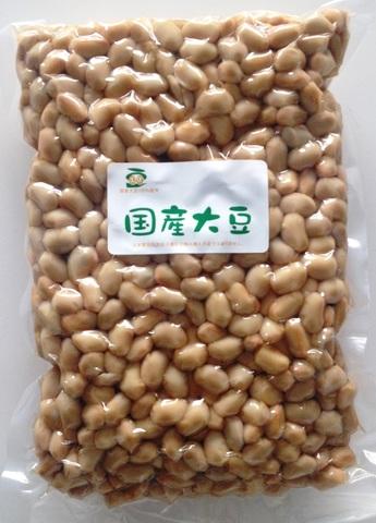 北海道産大豆水煮1kg