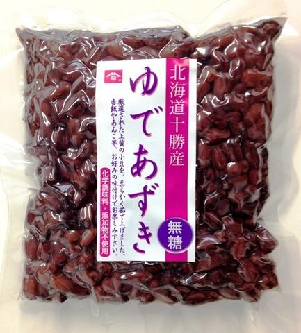【無糖!無添加!無化学調味料!】北海道産ゆであずき250g