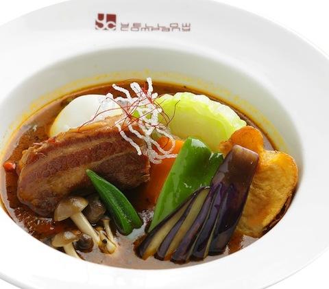 スープカレー豚角煮