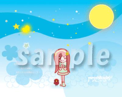 よろしこガール☆PC壁紙1280×1024