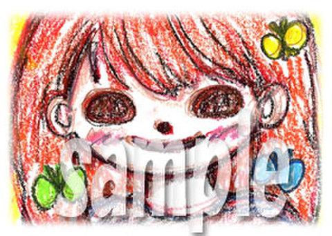 よろしこガール☆ 笑顔2(クレヨン)