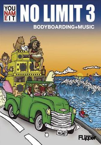 NO LIMIT 3  BODYBOARDING+MUSIC