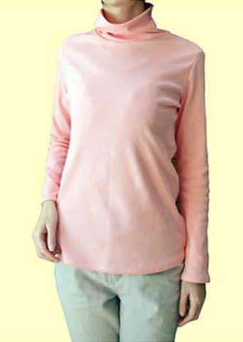 タートルネックのシャツの型紙【委託品】 婦人Mサイズ