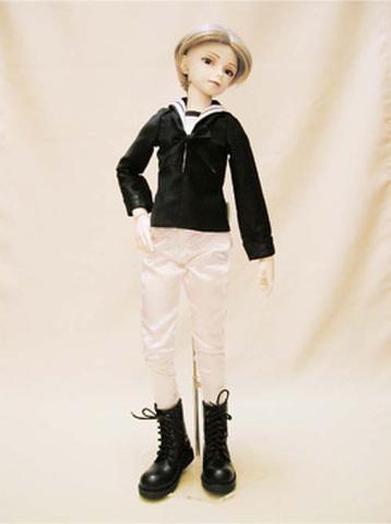 SD13男の子 セーラーシャツの型紙
