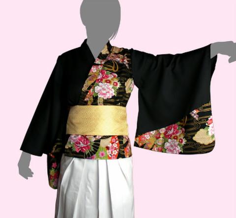 着物えりのブラウスの型紙 婦人Mサイズ