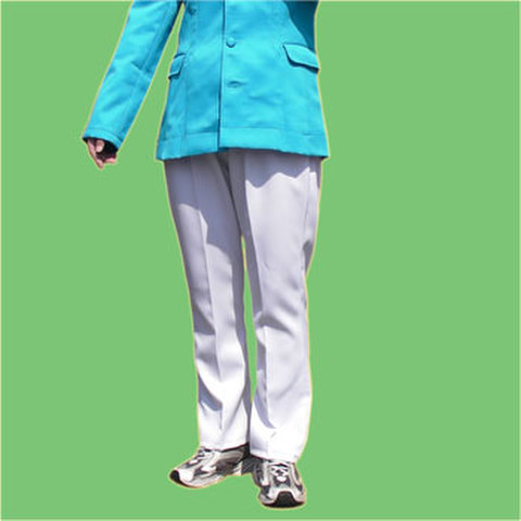 細身のゴムパンツの型紙 婦人Mサイズ