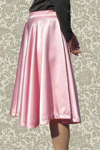 全円スカートの型紙サイズA