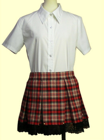 8本ボックスプリーツスカートの型紙
