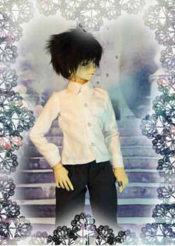 SD13男の子用 Yシャツの型紙