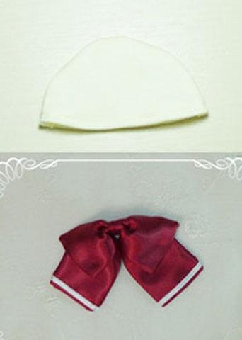 SD共用ヘッドキャップとリボンの型紙