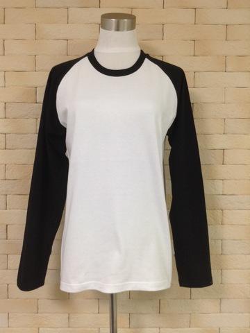 ラグランTシャツ紳士 Sサイズ(婦人M相当)【委託商品】