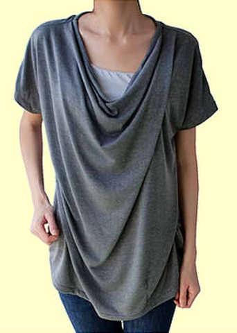 ドレープシャツの型紙【委託商品】 婦人Mサイズ