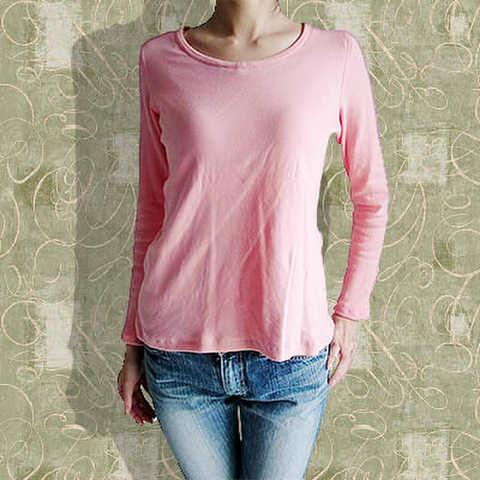 V・クルー(丸えり)ネックセーターの型紙【委託商品】 婦人Mサイズ