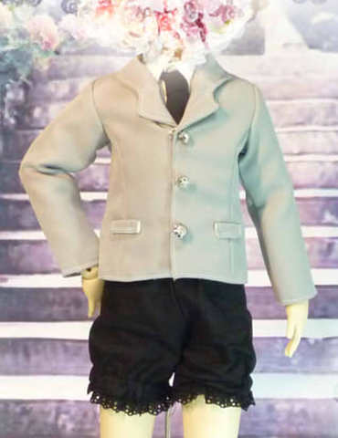 SD男の子ジャケットの型紙