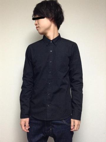 ボタンダウンシャツ 紳士M【委託品】※ポイント利用不可