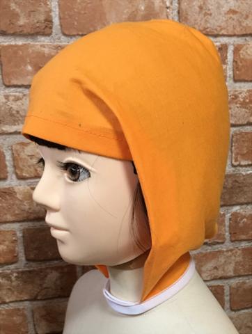 コスプレ用結ばない忍者頭巾の型紙