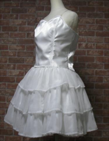 3段ティアードスカートの型紙