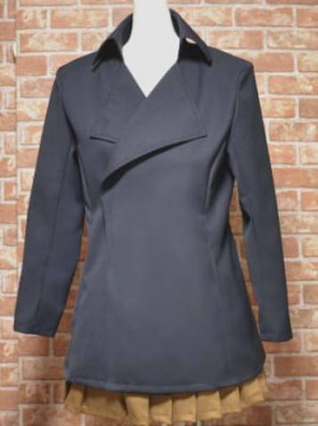 ナポレオンカラーのコートの型紙 婦人Lサイズ