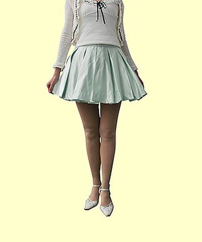 広がるボックスプリーツスカートの型紙【委託品】※ポイント利用不可