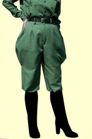 乗馬パンツの型紙 婦人サイズ