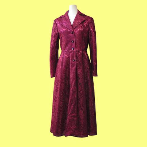 テーラードカラーのコートの型紙 婦人Mサイズ