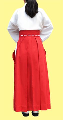 コスプレ用緋袴(スカートタイプ)の型紙