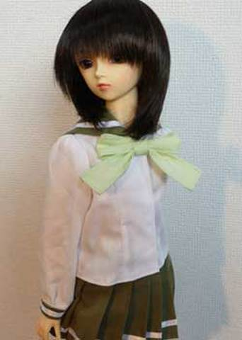SD13女の子用セーラーブラウスの型紙【委託商品】