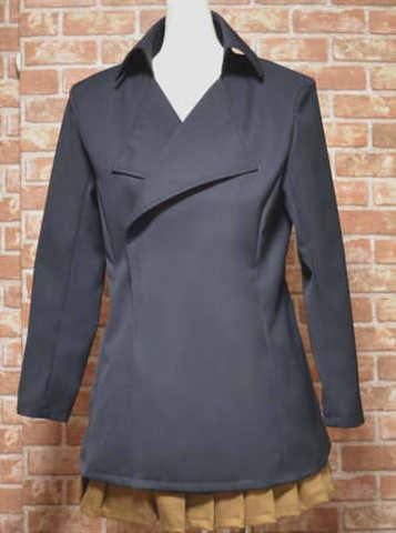 ナポレオンカラーのコートの型紙 婦人Mサイズ