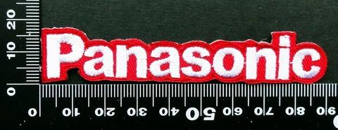 パナソニック Panasonic ワッペン (赤2)