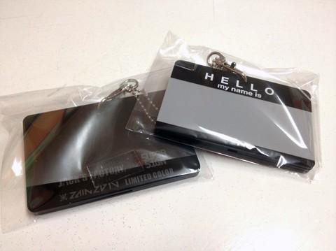 HELLO StickerDesign>IC CARD CASE/ZAIN2010</a> ZAIN2010 LIMITED COLOR