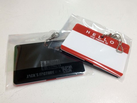 HELLO StickerDesign>IC CARD CASE/ORIGINAL COLOR