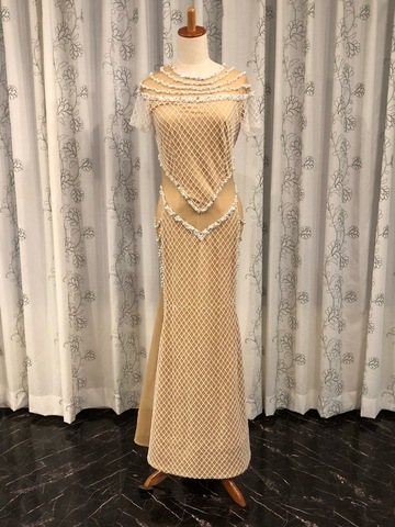 【30%OFF】Jada Studio ヌーディ・ラグジュアリーオリエンタルドレス