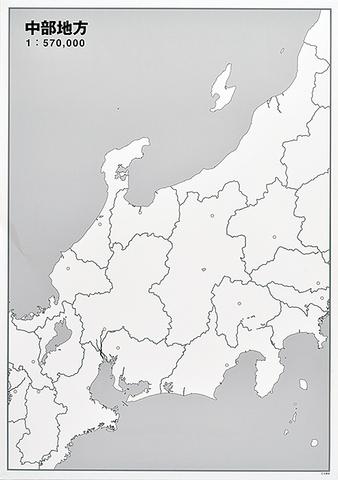 日本地方別シート 中部