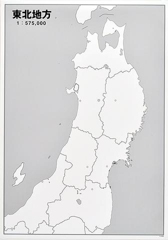 日本地方別シート 東北