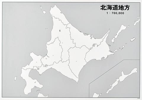 日本地方別シート 北海道