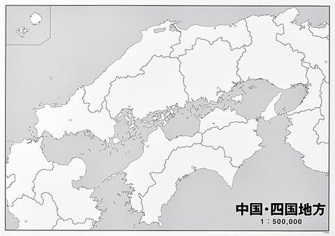 日本地方別シート 中国・四国