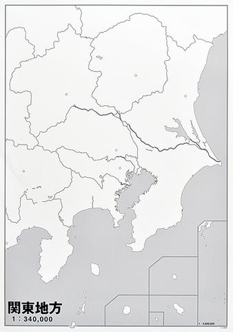 日本地方別シート 関東