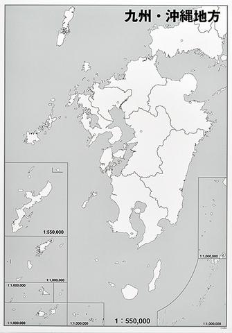 日本地方別シート 九州・沖縄