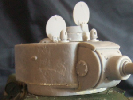 T-34-122 塔型砲塔キューポラ付き