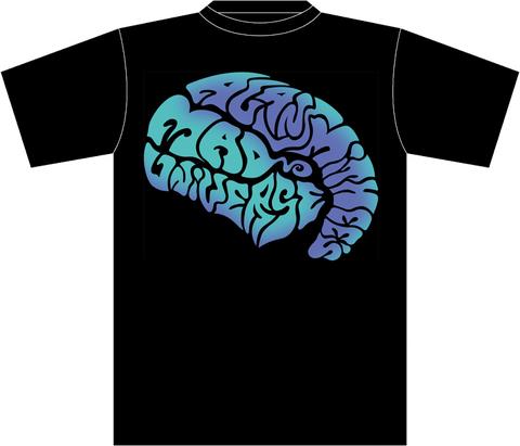 AxSxMxUx Brain LOGO T-SHIRT