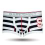 DARKHINY(ダークシャイニー)メンズボクサーパンツ emblem S navystripe