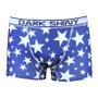 メンズボクサーパンツ DARKSHINY Stars blue