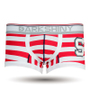 DARKHINY(ダークシャイニー)メンズボクサーパンツ emblem S redstripe