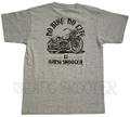 WL BOBBER MACHINE 杢グレー Tシャツ