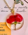 一輪の薔薇 ネックレス