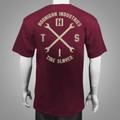 HITS V2 Tシャツ ブルゴーニュ