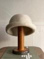 ラスト1点*ラムウール100の bell hat mature-ha.
