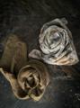 ICHI Antiquites 天然染料・手染めリネンのストール