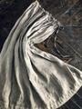 完売*ICHI Antiquites  LINEN HAND DYE ペチコート付墨染めスカート